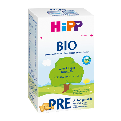 Hipp 德國喜寶 嬰兒配方奶粉 有機 pre段 (0-3月) 600g/盒