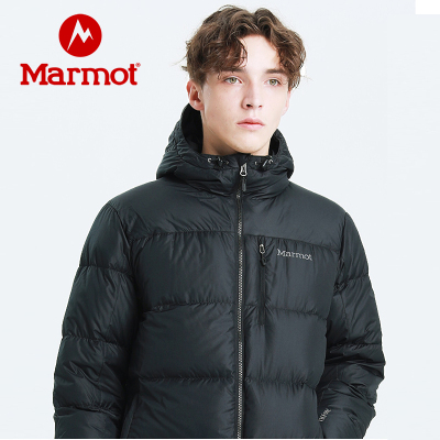 Marmot土拨鼠冬新款户外防风拒水男士面包羽绒服700蓬保暖羽绒衣