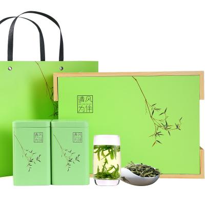 【过年不打烊】春逸茗茶 龙井茶2019新茶明前精品龙井茶叶200g礼盒绿茶春茶