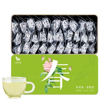 八馬茶葉 春系列 安溪特級鐵觀音茶葉清香型烏龍茶蘭花香盒裝210克