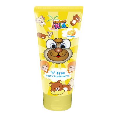 原裝進口Colutti Kids德露寶母嬰幼兒童牙膏(香橙味)80g 2-12歲寶寶母嬰幼兒童專用牙膏