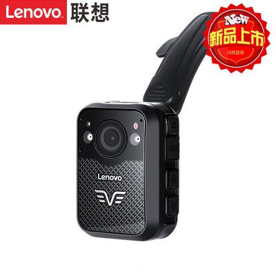 聯想(Lenovo)DSJ-2W執法記錄儀1296P高清紅外夜視專業微型便攜背夾音視頻現場執法儀64G黑色