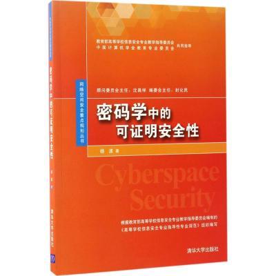 正版 密码学中的可证明安全性 杨波 著 清华大学出版社 9787302467229 书籍