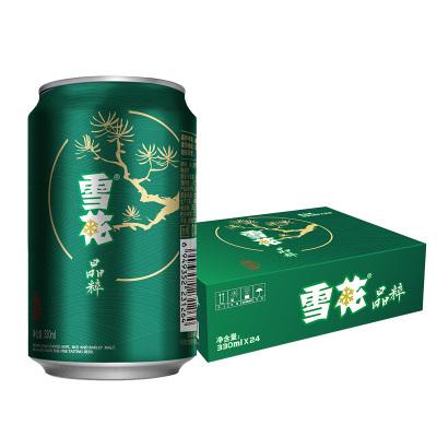 雪花啤酒(Snowbeer)晶粹 330ml*24聽(清爽升級版) 整箱裝