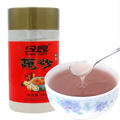 今良純藕粉300g/罐無糖揚州寶應特產代餐粉