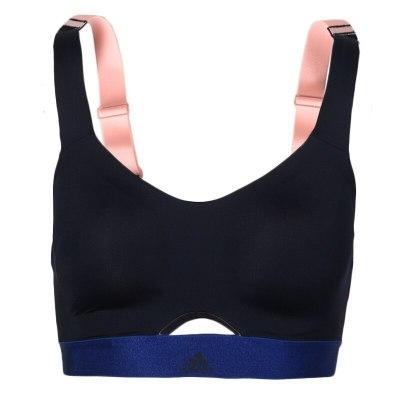 阿迪達斯(adidas)女士舒適透氣訓練運動文胸STRNGR SOFT CX5258