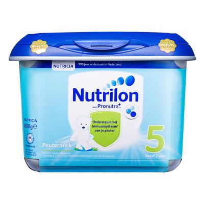 【乳糖配方】荷蘭牛欄 諾優能荷蘭版 Nutrilon海外 兒童配方奶粉 安心罐 5段(24月以上)800g/罐