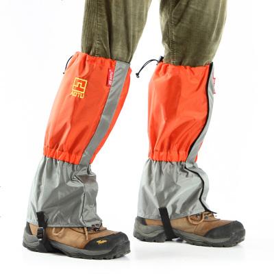夏季户外防水雪地徒步雪套 野外防虫防蛇咬防沙护腿 男女脚套鞋套