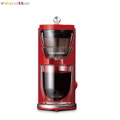 recotle/丽克特 煮咖啡机 家用日式迷你滴漏式一杯半自动咖啡机