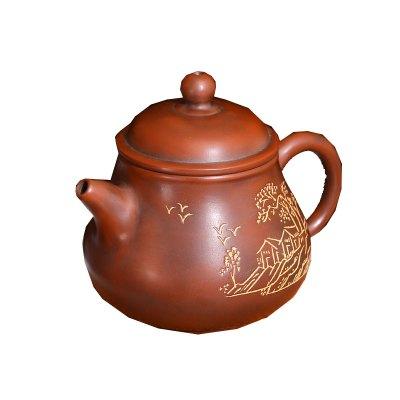 欽州坭興陶茶壺茶具全手工壺廣西名家潘壺陶壺套組茶器