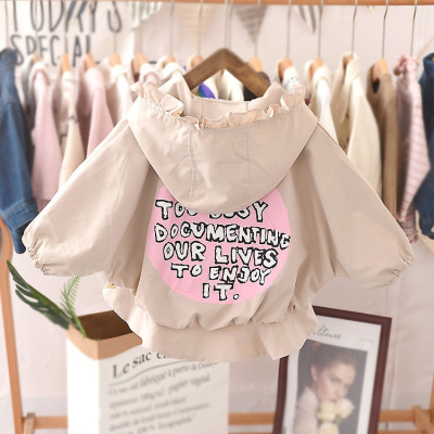 寶寶洋氣風衣女嬰兒夾克衫春秋潮2019新款網紅秋裝薄韓版女童外套