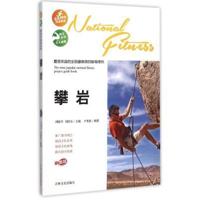 攀岩/最受欢迎的全民健身项目指导用书/卢兆振