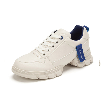 达芙妮2020春深口厚底运动鞋潮酷色彩女休闲运动鞋