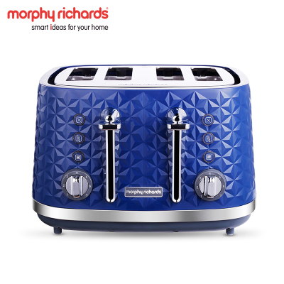 摩飛電器( Morphyrichards )烤面包機多功能多士爐家用全自動4片營養早餐機 MR8105
