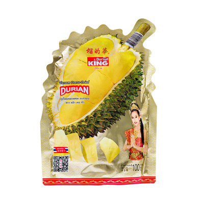 榴的华牌榴莲干100g(1*20袋) 果干 零食 泰国进口
