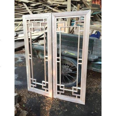 東陽木雕仿古窗 中式花格窗戶 工程裝修仿古窗花格 處理