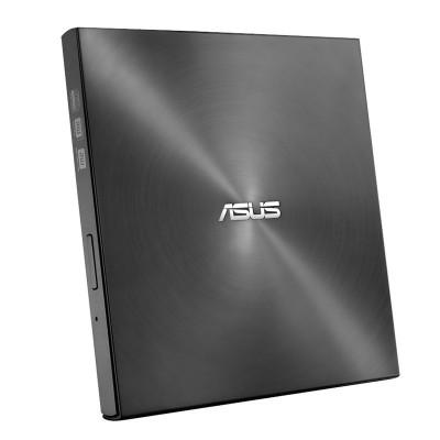 華碩(ASUS)SDRW-08U7M-U USB2.0 外置刻錄光驅 黑色 兼容蘋果系統 外置刻錄機