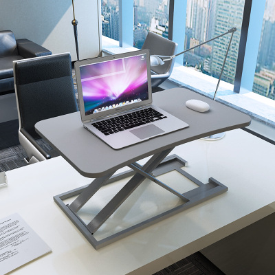 站立式電腦升降桌筆記本臺式電腦桌子站立辦公工作臺桌面增高架子