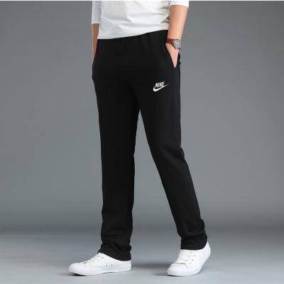 耐克(NIKE)運動褲男褲薄款黑色寬松直筒休閑長褲804422-010