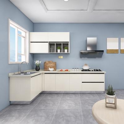 歐派整體櫥柜定制廚房裝修刨花板19800元套餐預付金