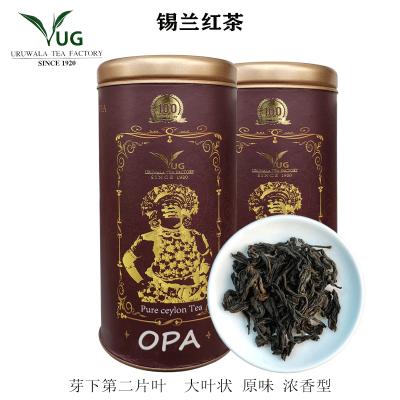 錫蘭紅茶 斯里蘭卡紅茶URUWALA TEA進口紅茶 OPA嫩葉一級一芽一葉茶葉制作成茶 100g 禮品罐裝
