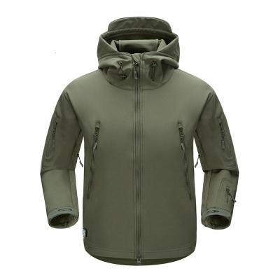 户外 战术鲨鱼皮冲锋软壳衣 男士上衣外套 防水防风登山服