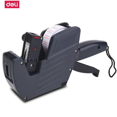 得力(deli)7500標價機單排標簽機商店超市便利店打價格標簽機打碼機打價機打碼器單排手動標價機打生產日期單個