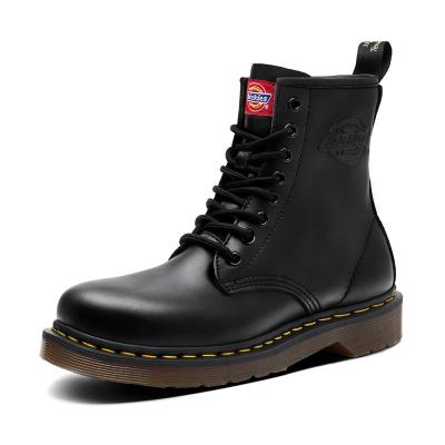 【新品】Dickies馬丁靴女款系帶 經典光面8孔 英倫風男女同款短靴工裝風204W50LXS83