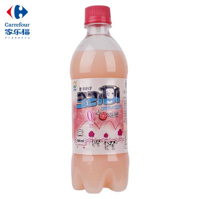 【家乐福】九日冰祖西柚味碳酸饮料500ml