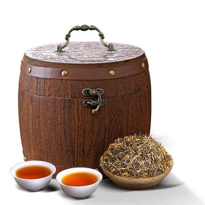 福崗武夷金俊眉蜜香型金駿眉紅茶品質新茶散裝茶葉禮盒木桶裝