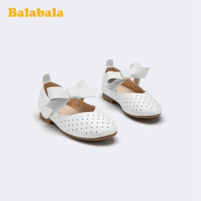 巴拉巴拉官方童鞋女童小皮鞋公主鞋甜美小童鞋2020新款夏季鞋子