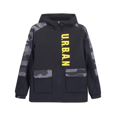 361°兒童男中大童韓版舒適保暖時尚梭織運動外套