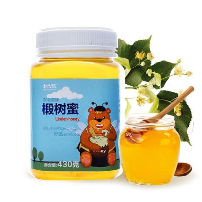 北大荒 椴樹蜜 蜂蜂熊系列 東北黑蜂 純蜂蜜 430g