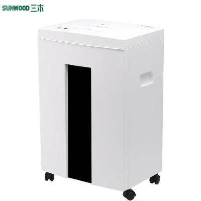 三木(SUNWOOD)SD9112碎纸机电动自动保密文件粉碎机大功率静音家用办公