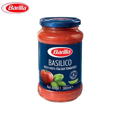 Barilla意大利進口 百味來羅勒風味番茄意面調味醬400g 意大利面醬13739 新舊包裝隨機發