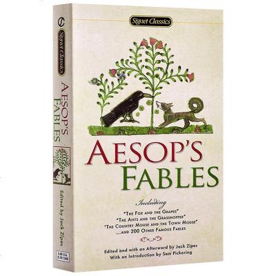 正版 伊索寓言 英文原版 Aesop's Fables 经典名著 203个故事文学小说英文版 正版进口书籍