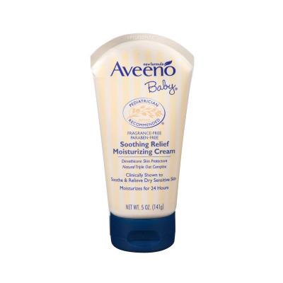 艾維諾(Aveeno)嬰兒燕麥滋潤舒緩保濕潤膚護臉面霜 141g 適合任何膚質