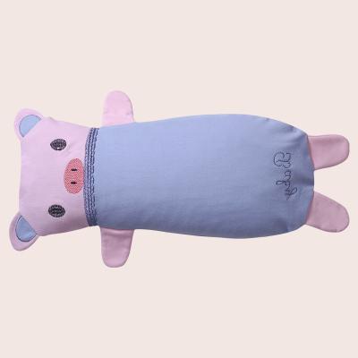 【蘇寧自營】龍之涵兒童枕頭0-12歲新生兒男女寶寶純棉蕎麥殼幼兒園卡通嬰兒枕