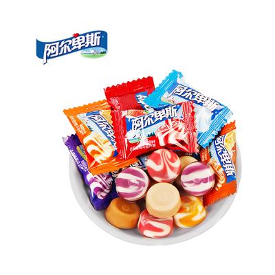 阿尔卑斯硬糖混合口味500g水果糖果小零食牛奶糖结婚喜糖批发散装