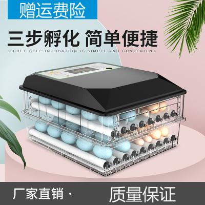 納麗雅(Naliya)孵化器小型家用型孵蛋器孵化機孵化箱小雞鴨鵝蛋孵化器全自動智能 36枚全自動單電源藍色