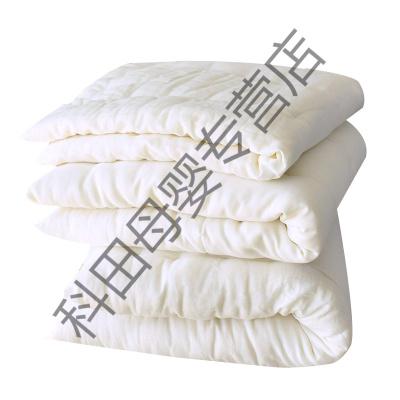 婴儿床垫床褥子芯儿童宝宝盖垫被内胆被芯幼儿园铺被四季通用应学乐 60*110cm褥芯中厚1.5斤加厚2斤 中厚