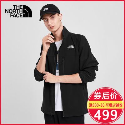 2020春季新款TheNorthFace北面軟殼夾衣男戶外防風防潑水外套4NGJ