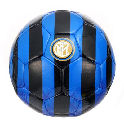 国际米兰俱乐部Inter Milan 2019年秋冬季新品成人2号儿童小学生室内户外真皮脚感拍拍娱乐训练耐磨足球