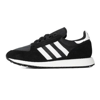 阿迪达斯(adidas)2018秋中性经典休闲运动跑步鞋Forest Grove B41550