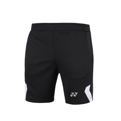 YONEX尤尼克斯 羽毛球服120189BCR男款羽毛球短褲速干