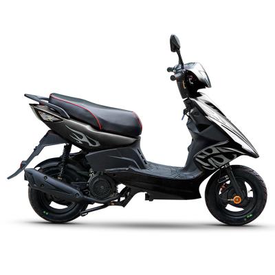 風感覺全新摩托車125CC鬼火踏板車五代戰速助力燃油車可上牌