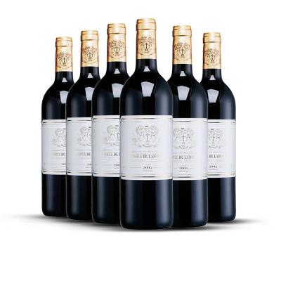 拉莫德法国原瓶进口红酒干红葡萄酒 原装进口法国红酒 整箱6支装