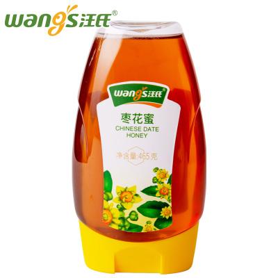 汪氏蜂蜜 天然棗花蜜 純正紅棗蜜 野生農家自產土蜂蜜