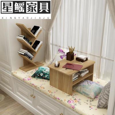 飘窗茶几榻榻米桌子日式小茶几炕桌窗台桌阳台书桌飘窗电脑桌书柜