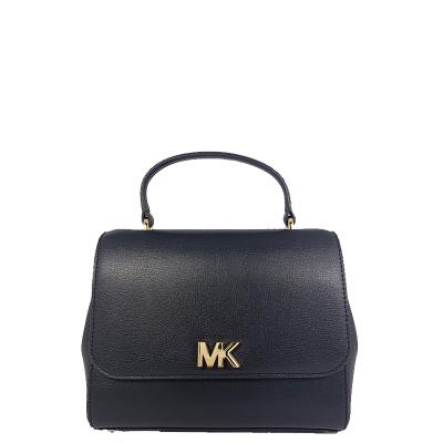 【直營】邁克·科爾斯(MICHAEL KORS) Mott系列 中號 拉鏈 皮革 硬 女士經典翻蓋手提斜挎包 mk 女包